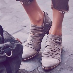 Free People Lost Valley Ankle Boots.